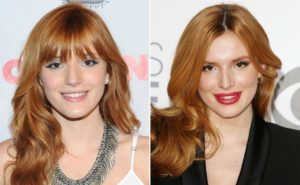 bella thorne lip injections before and after, bella thorne lip job, bella thorne before and now lips
