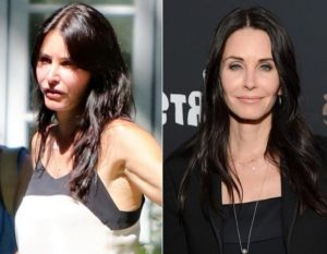 Courteney Cox before after plastic surgery, courtney cox before and after plastic surgery