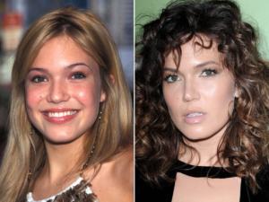 Mandy Moore nose job