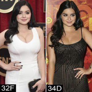ariel winter after breast reduction, ariel winter after reduction, ariel winter before after