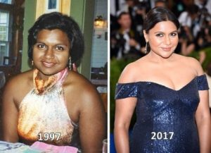mindy kaling before after, mindy kaling before and after, mindy kaling bleaching, mindy kaling bleach her skin, mindy kaling skin lightening