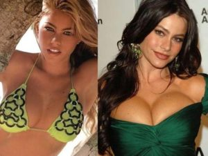 did sofia vergara get a boob job, sofia vergara before, sofia vergara before and after, sofia vergara big boobs, sofia vergara boob job